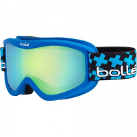 Bolle Youth Volt Plus Goggle - Matte Blue Cross / Green Emerald