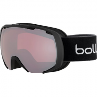 Bolle Youth Royal Goggle - Matte Black And White Spray / Vermillon Gun