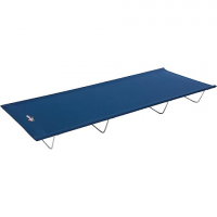 Exxel Outdoors Mountain Trails Base Camp Cot - Blue