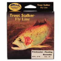 Stone Creek Bob Ward ' S Trout Stalker Weight Forward Floating Fresh Water Fly Line ( 3wt ) - Yellow