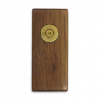 11 Outdoors . 270 Winchester Handcrafted Money Clip - Walnut