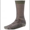 Smartwool Hunting Heavy Crew Socks - Brown / Forest