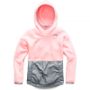 The North Face Girls Youth Riit Fleece Pullover - Purdy Pink