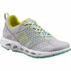 Columbia Women ' S Drainmaker Iii Multi - Sport Shoe - Cool Grey / Fresh Kiwi