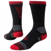 Red Lion Artillery Performance Football Crew Socks - Black / Red
