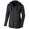 Columbia Women ' S Place To Place Full Zip Hoodie - Black Heather
