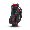 Titleist Lightweight Cart Bag - Black / Black / Red