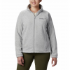 Columbia Women ' S Benton Springs Full Zip Fleece Jacket - 034cirrus / Grey / Hthr
