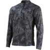 Huk Men ' S Icon X Camo 1 / 4 Zip Long Sleeve Shirt - Subphantis Night Vision