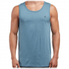 Volcom Men ' S Solid Heather Tank - Wrecked Indigo