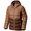 Columbia Women ' S Explorer Falls Hooded Jacket - Black / Gravel