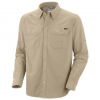 Columbia Mens Silver Ridge Long Sleeve Shirt - Peatmoss