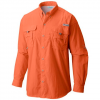 Columbia Men ' S Pfg Bahama Ii Long Sleeve Shirt - Island Orange