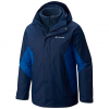 Columbia Men ' S Eager Air Interchange 3 - In - 1 Jacket - Collegiate Navy