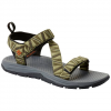 Columbia Men ' S Wave Train Sandals - 338coolmoss / Brgtcopr