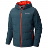 Columbia Men ' S Lone Fir 650 Turbodown Hooded Jacket - Mystery