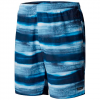 Columbia Men ' S Big Dippers Water Short - Blue Sky Brush Stripe