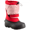 Columbia Youth Powderbug Plus Ii Snow Boot - Camellia Rose / Grey Ice