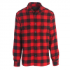 Woolrich Men ' S Oxbow Bend Plaid Flannel Shirt : Modern Fit - Old Red Buffalo