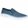 Columbia Men ' S Spinner Vent Moc Shoes - Collegiate Navy / Aqua Blue