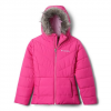Columbia Girl ' S Youth Toddler Katelyn Crest Jacket - 695pinkice