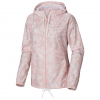 Columbia Women ' S Flash Forward Printed Windbreaker - Mineral Pink Camo Print