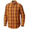 Columbia Men ' S Cooper Lake Long Sleeve Shirt - Red Element Plaid