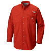 Columbia Mens Bonehead Long Sleeve Shirt - 808rusty
