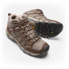 Keen Men ' S Oakridge Waterproof Mid Hiking Shoe - Raven / Burnt Ochre