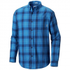 Columbia Men ' S Cooper Lake Long Sleeve Shirt - 437azulpld
