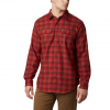 Columbia Men ' S Silver Ridge 2 . 0 Flannel Shirt - Mountain Red Plaid