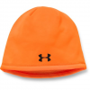 Under Armour Men ' S Ua Outdoor Fleece Beanie - Blaze Orange / Black