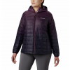Columbia Women ' S Voodoo Falls 590 Turbodown Hooded Jacket ( Extended Sizes ) - Black Cherry