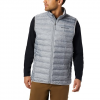Columbia Men ' S Lake 22 Down Vest - Columbia Grey Heather