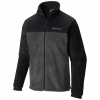 Columbia Men ' S Steens Mountain Full Zip 2 . 0 Fleece Jacket - Black / Grill