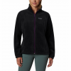 Columbia Women ' S Benton Springs Full Zip Fleece Jacket - Black / Iris