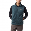 Columbia Men ' S Steens Mountain Fleece Vest - Night Shadow