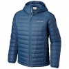 Columbia Men ' S Voodoo Falls 590 Turbodown Hooded Jacket - Phoenix Blue