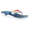Columbia Men ' S Rostra Pfg Flip Sandal - Carbon / Tangy Orange