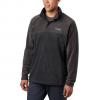 Columbia Men ' S Steens Mountain Half Snap Fleece Pullover ( Tall ) - 030charcoal