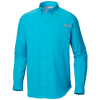 Columbia Men ' S Tamiami Ii Longsleeve Shirt ( Extended Sizes ) - Kelp