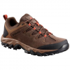 Columbia Men ' S Buxton Peak Waterproof Hiking Shoes - Cordovan / Rusty