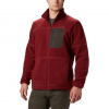 Columbia Men ' S Rugged Ridge Sherpa Fleece - Red Jasper / Buffalo / City Grey