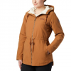 Columbia Women ' S Chatfield Hill Jacket - Camel Brown