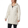 Columbia Women ' S Heavenly Long Hooded Jacket - Truffle