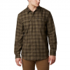 Columbia Men ' S Silver Ridge 2 . 0 Flannel Shirt - Olive Green Plaid