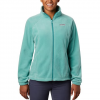 Columbia Women ' S Benton Springs Full Zip ( Plus Sizes ) - 457lagoon