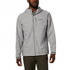 Columbia Men ' S Ascender Hooded Softshell Jacket - Columbia Grey