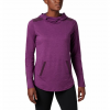 Columbia Women ' S Place To Place Hoodie - Black Cherry