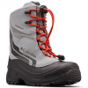 Columbia Youth Bugaboot Plus Iv Omni - Heat Boot - Monument / Blood Orange
